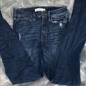Size 2 dark wash Abercrombie and Fitch denim jeans
